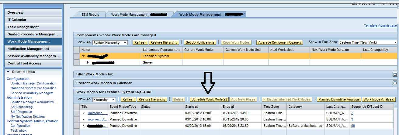 stop rfc alerts from solman